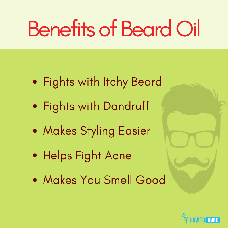 benefits of beard oil-