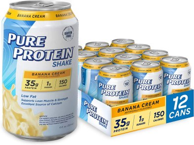 pure protein shake