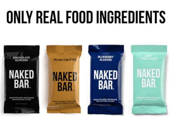 naked nutrion bars