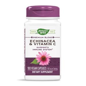 Echinacea and Vitamin C - 100 Capsules