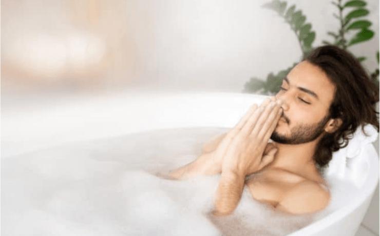 Bathtub meditation