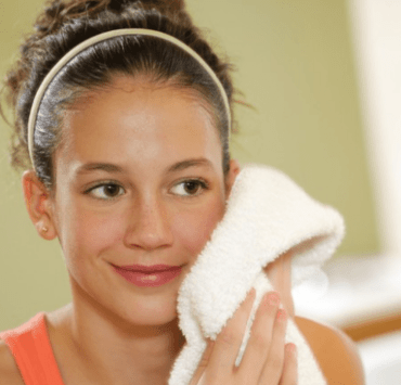 Can you exfoliate with a towel