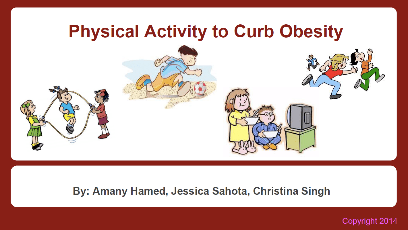 Rutgers Students Fight Obesity Projects From Our Class Obesity Biology Behavior And