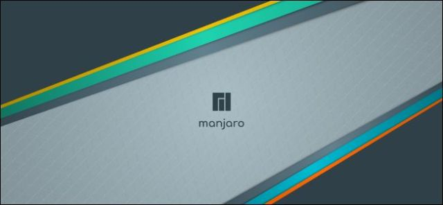 Manjaro office background.