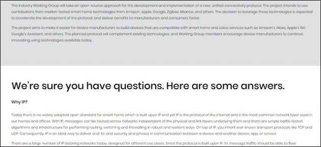 A screenshot of the CHIP website, showing line after line of text and no images.