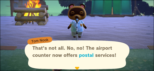 animal crossing new horizons postal service