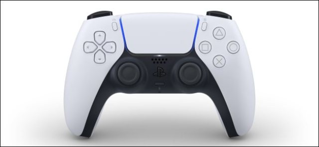 The new DualSense wireless controller for Sony PlayStation 5.