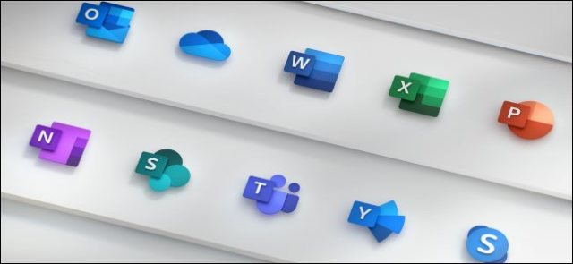 New Microsoft Office Icons