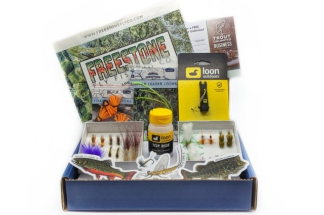Freestone Fly Fishing Company best fishing subscription box for anglers flies and patterns for trout tying fly with steelhead salmon