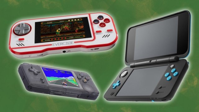 Evercade, Nintendo 2DS XL and Revo K101
