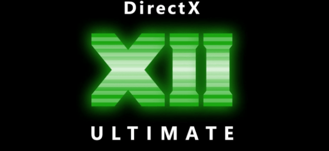The DirectX 12 Ultimate logo.