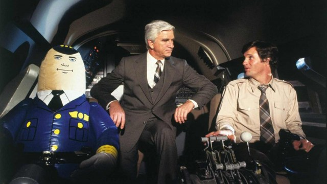 Scene from the 1980 comedy 'Plane!'.