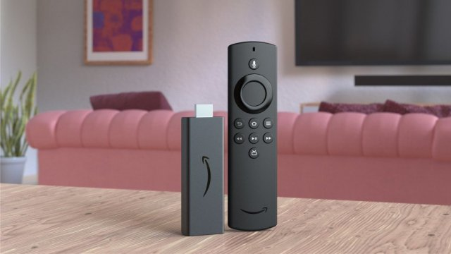 Amazon Fire Stick Lite in a living room