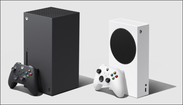 An Xbox Series X and S.