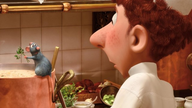 A still from the movie 'Ratatouille'.
