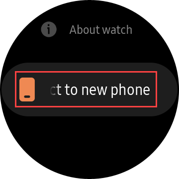 connect to a new phone