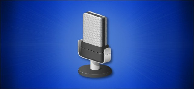 Windows 10 Hero microphone icon
