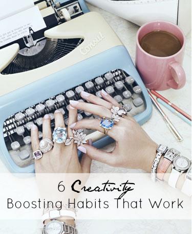 6 Creativity Boosting Habits That Work