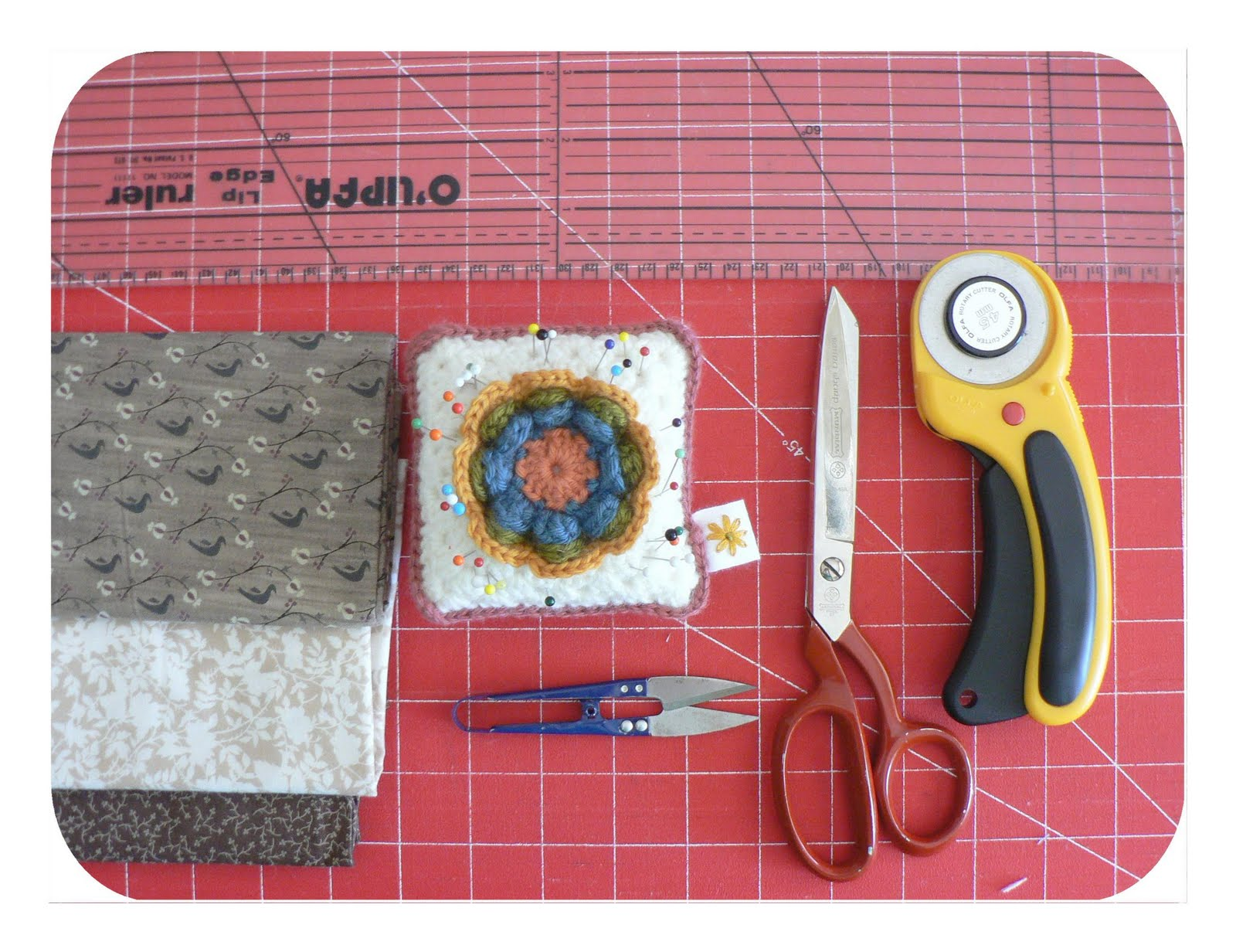 Crochet hook roll tutorial…