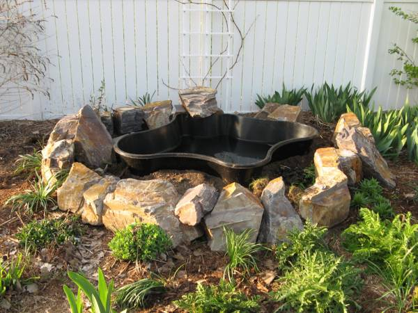 How to Build a Raised Stone Water Feature Pond