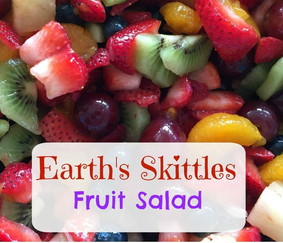EARTH'S SKITTLES FRUIT SALAD RECIPE