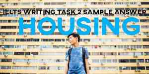 IELTS Writing Task 1: Bar Chart Owned and Rented Households (IELTS Cambridge 13)