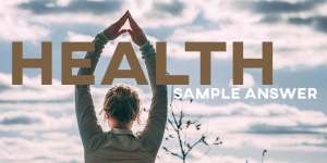 IELTS Writing Task 2 Health