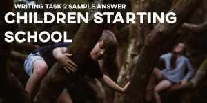 IELTS writing task 2 sample answer essay