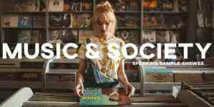 IELTS essay music society
