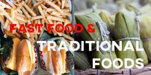 ielts essay fast food traditional foods