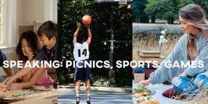 ielts speaking picnics sports games