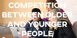 ielts essay Competition between Older and Younger People
