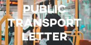 ielts essay public transport letter