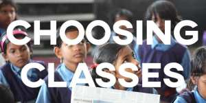 IELTS Essay: Choosing Classes