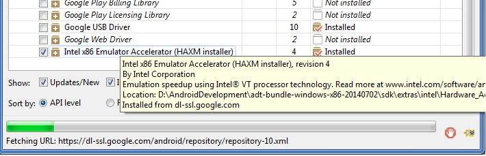 Emulator Accelerator Option