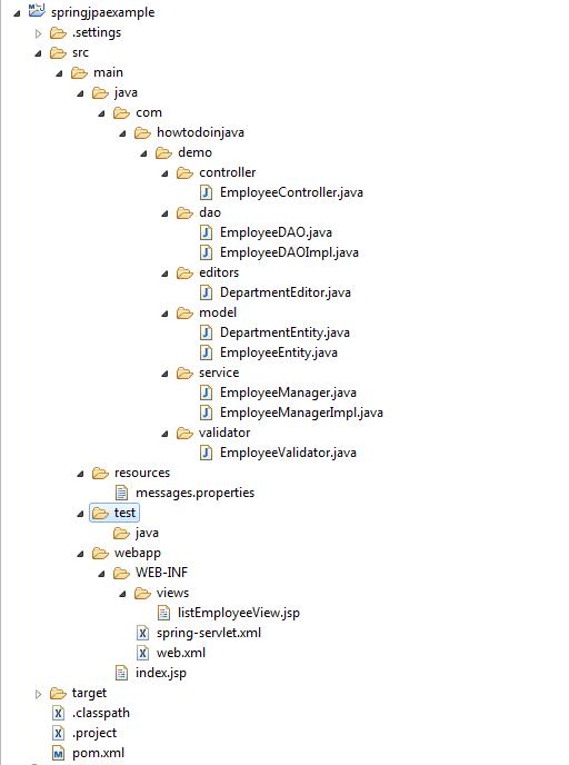 application-folder-structure-hibernate-jpa