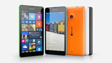 Take screenshots Lumia 535