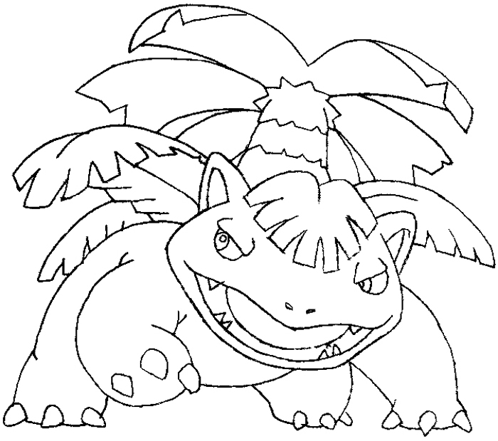 how to draw venusaur from pokemon stepstep drawing
