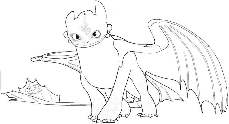 How To Train Your Dragon Drawing Pictures  HowstoCo