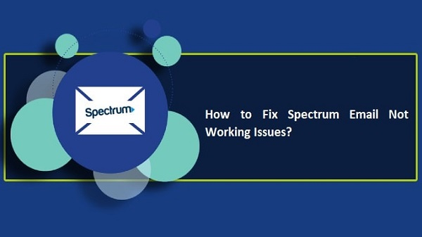 Spectrum Email Not Working