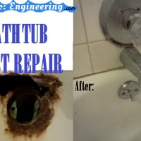 Rusted Bath Tub Repair