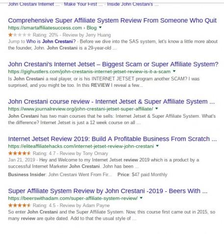 is john crestani a scam