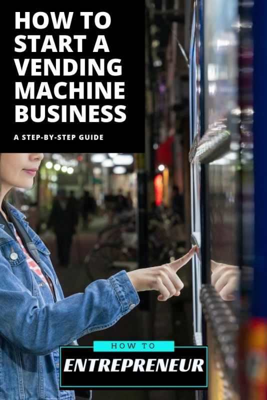 How to Start a Vending Machine Business Pinterest Pin