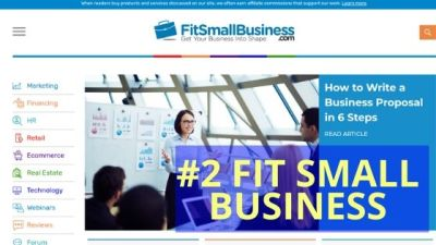 Fit Small Business: Successful Affiliate Marketing Website Examples