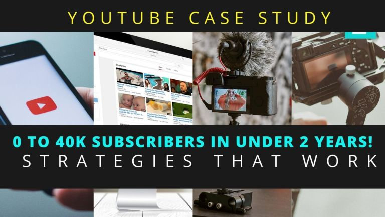 Advice to Increase Youtube Subscribers - A Case Study