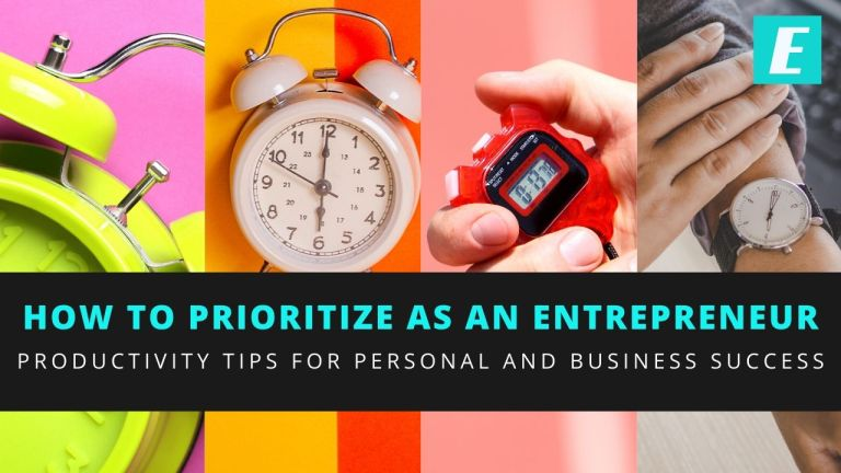 How to Prioritize as an Entrepreneur Thumbnail