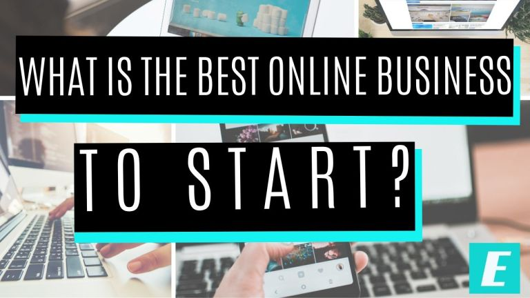 What is the Best Online Business to Start - Featured Image