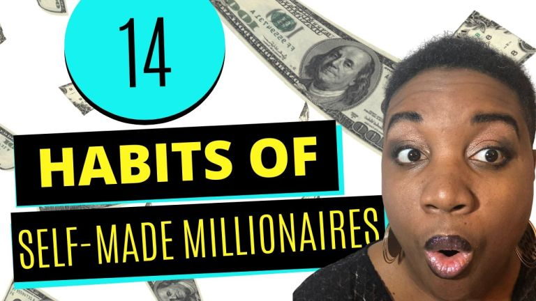 14 Habits of Self-Made Millionaires - Featured Image
