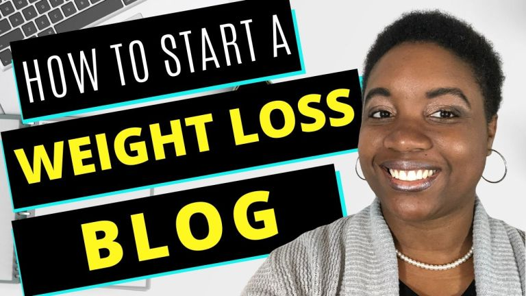 How to Start a Weight Loss Blog - Featured Image
