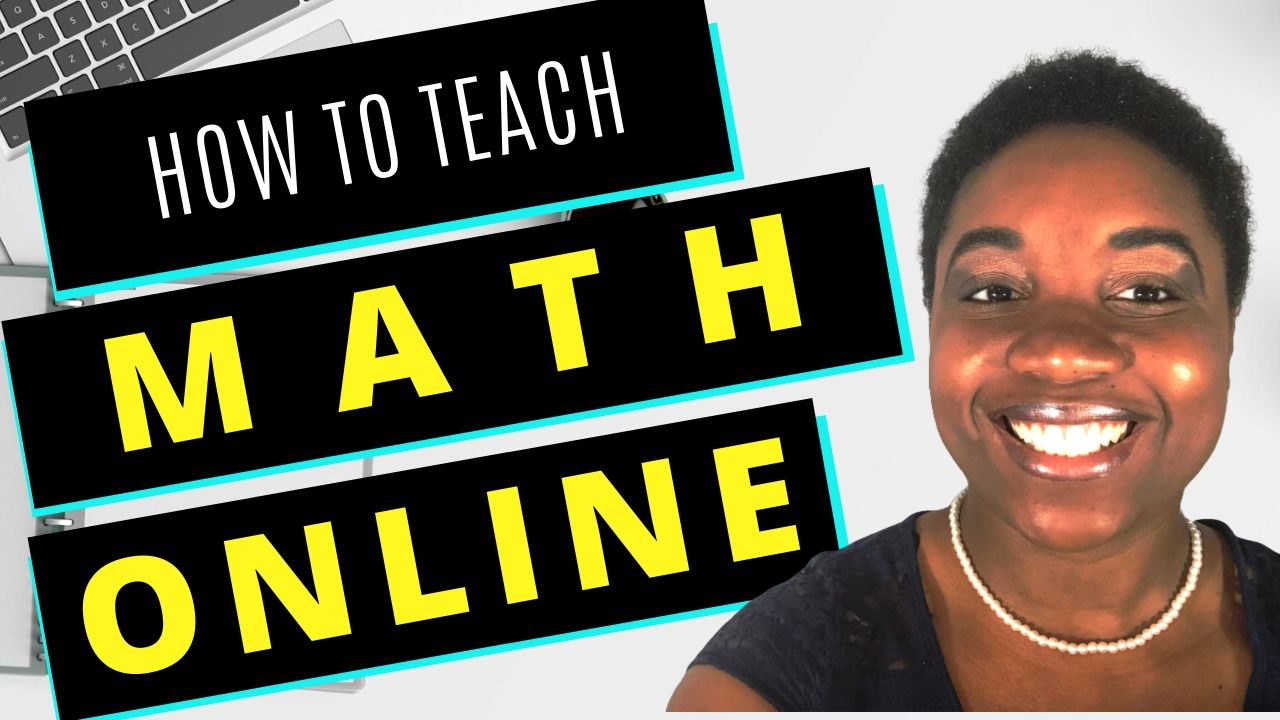 How to Teach Math Online - Featured Image